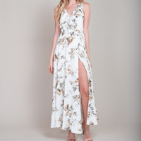 isabella floral maxi dress