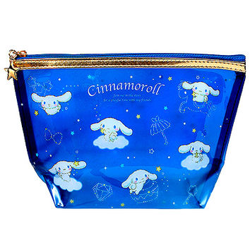 Buy Cinnamoroll Clear Vinyl Deep Pouch - Night Sky Series at ARTBOX