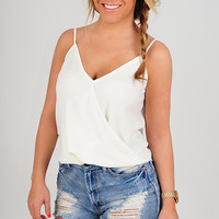 Stealing My Heart Top: Ivory