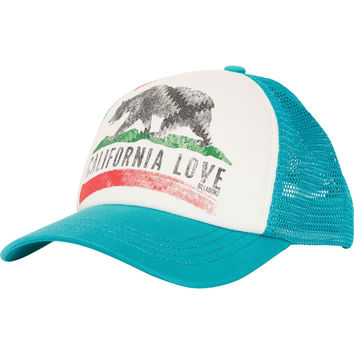 Billabong Girls - Pitstop Trucker Hat | Mediterranean
