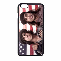 Pierce The Veil And Sleeping With Sirens American Flag iPhone 6 Case