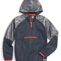Girl's Under Armour Water Repellent Hooded Jacket