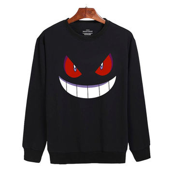 Pokemon Gengar Sweater sweatshirt unisex adults size S-2XL
