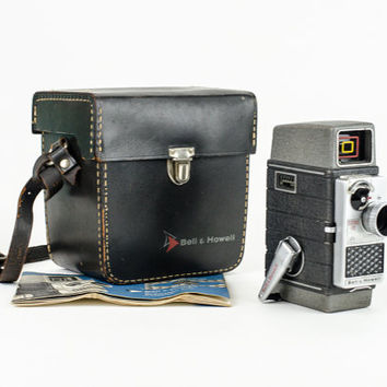 Vintage Bell & Howell Electric Eye 8 mm Camera 1950s