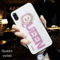 Queen Chanel  fashion case  iphone cover for iphone7/8plus  iphone6/6splus  x shell