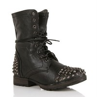 Pre-Order: Black Studded Boots
