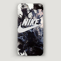 Nike iPhone Case, Dark Grey iPhone 5S Case, iPhone 6 Plus Case, Cell Phone Case, iPhone Covers, Case for iPhone 6, Marble iPhone 7 Case