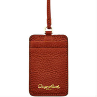 Dooney & Bourke Pebble Grain Lanyard ID Holder