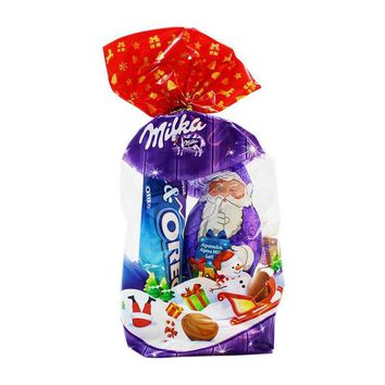 Milka Holiday Assortment Bag, 4.4 oz (126 g)
