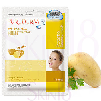 PUREDERM Potato Essence Mask