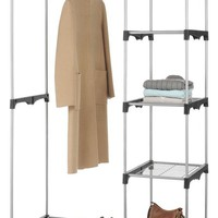 Metal Double Rod Closet - Closet Organization - Storage & Organization - Storage & Display | HomeDecorators.com