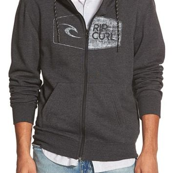 Men's Rip Curl 'Syndrom' Front Zip Hoodie,