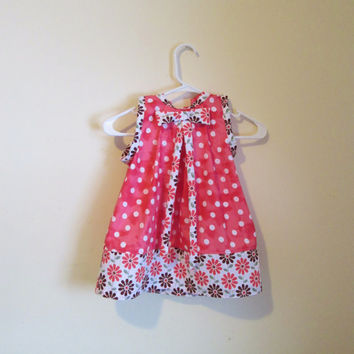 Clearance - Pretty in Pink Party Dress, Spring, Summer, Birthday - Suggested Size 24 mos - 2T