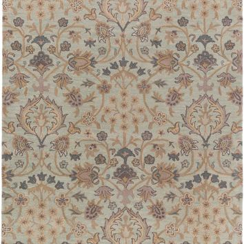 Surya Castello Arts and Crafts Blue CLL-1026 Area Rug