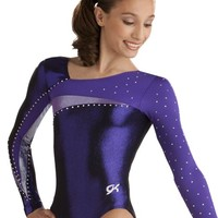 Dramatic Bodice Detail Gymnastics Leotard from GK Elite