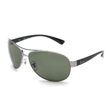 NEW Genuine Ray Ban RB3386 0049A Grey Mens Womens Sunglasses Glasses