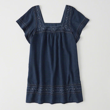 Womens Flutter Sleeve Dress | Womens New Arrivals | Abercrombie.com