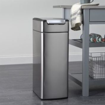 simplehuman ® 10.5-Gallon Slim Touch-Bar Trash Can