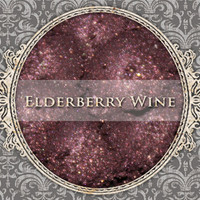 ELDERBERRY WINE Mineral Eyeshadow: 5g Sifter Jar, Dark Purple Pink, Shimmer Cosmetics