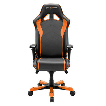 DXRacer SJ08NO Big and Tall Ergonomic Executive Chair Gaming Office Chair-Orange