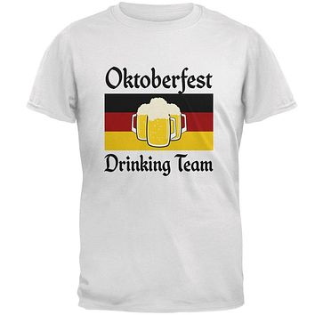 Oktoberfest Drinking Team Flag German Beer Mens Soft T Shirt