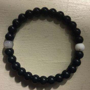 Shopnelo Lokai Supports Make-A-Wish (black colour Bracelet )