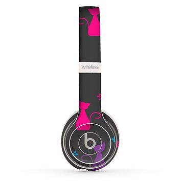 The Color Vector Cats Skin Set for the Beats by Dre Solo 2 Wireless Headphones