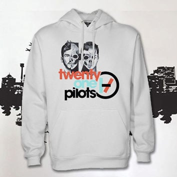 twenty one pilots logo hoodie unisex , hoodie for women and men,hoodie size S,M,L,XL,2XL