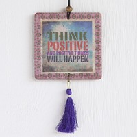 Car  Air  Fresheners:  Think  Positive  Tassel  Air  Freshener  From  Natural  Life