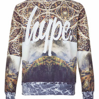 Hype 'Geographic' Sweatshirt* - TOPMAN USA