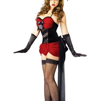 Atomic Three Piece Red Burlesque Baby Costume