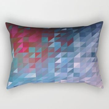 Shifted Rectangular Pillow by Ducky B