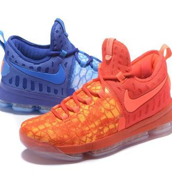 nike mens kevin durant 9 fire ice basketball shoe us7 12-1