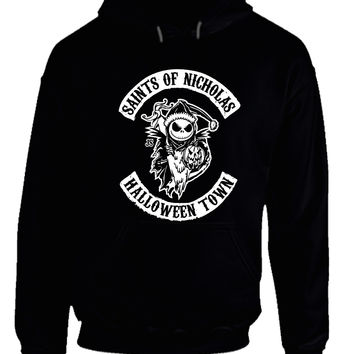 Saints Of Nicholas Halloween Town Hoodie