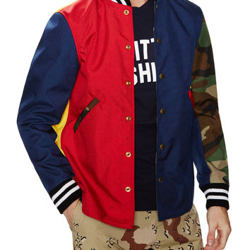 Birdie Colorblock Bomber Jacket