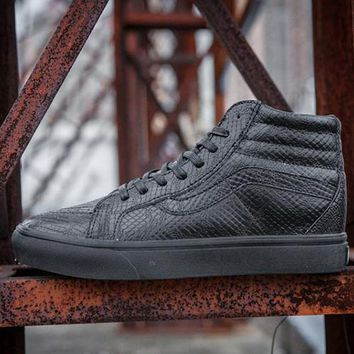 Vans Mono Python Sk8-Hi Slim Zip DX Flats Sneakers Sport Shoes