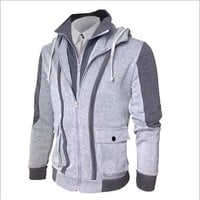Plus Size Hoodies Men's Fashion Winter Jacket [10669403267]