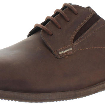 Ben Sherman Men's Leather Oxford Dress Shoes