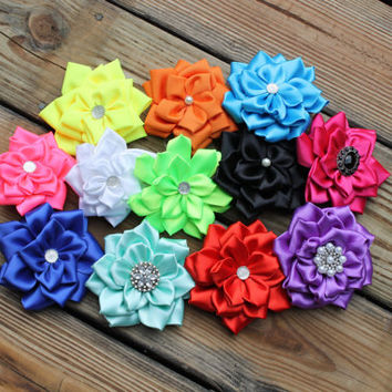 Any Color, flower girl hair accessories, children headbands, wedding hairbows, christening, baby girl headband, photo prop, headband