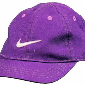 Nike Infant Toddler Girl's Embroidered Logo Adjustable Baseball Cap (2/4 Toddler, Ultra Violet)