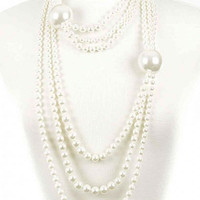 Chunky Bubble Pearl Necklace