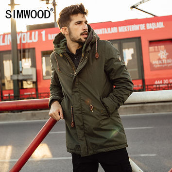 New Winter long Coats Men  Warm Casual  Jacket  outerwear  fashion  thick clothing