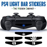 PS4 Light Bar Vinyl Sticker / Decal