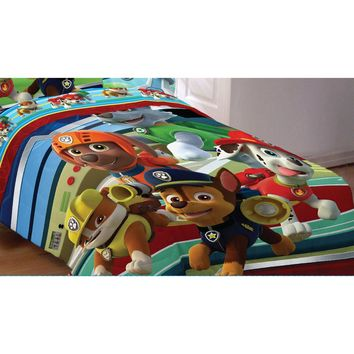 Paw Patrol Twin-Full Comforter Puppy Hero Bedding