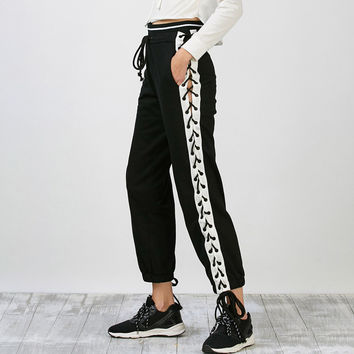Side Laced Pants