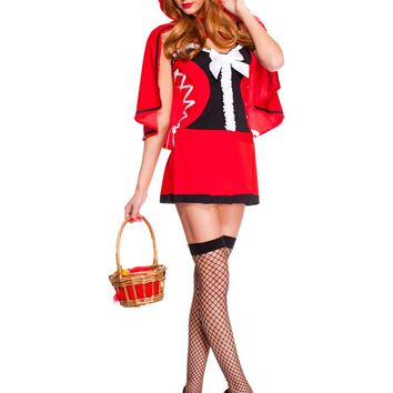 MOONIGHT Halloween Little Red Riding Hood Costume Sexy Ladies Cosplay Lingerie Women Halloween Costumes For women