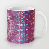 Old Bookshop Magic Mandala Mug by Octavia Soldani | Society6
