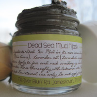 Facial Mask - Dead Sea Mud Mask - Natural Face Mask - Facial Scrub - Anti aging - Fine grit mask - Mud Mask - Clay Mask - Facial Care