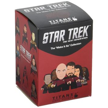 "Star Trek: The Next Generation The ""Make It So"" Collection 3"" Mystery Blind Box Figure"