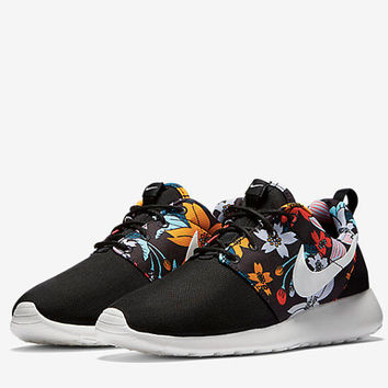 custom Nike Roshe one hawaiian floral print